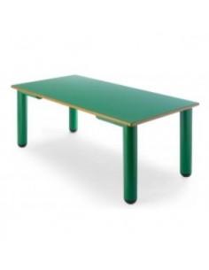 Mesa rectangular 120x60 cm.