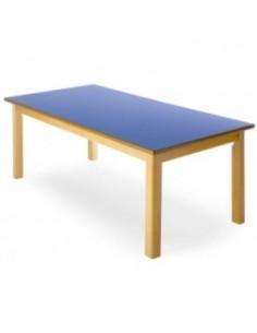 Mesa rectangular 120x60 cm,...