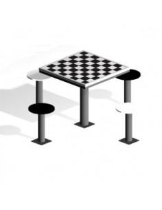 Mesa de juegos para exterior