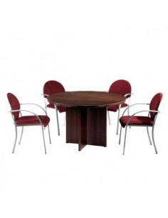 Mesa de reuniones redonda...