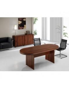 Mesa de reuniones ovalada...