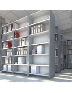 Librería metálica sin...