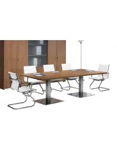 Mesa de reuniones base lux
